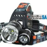 Boruit 3000Lumen Super Bright 3X CREE XML T6 LED Headlamp Torch