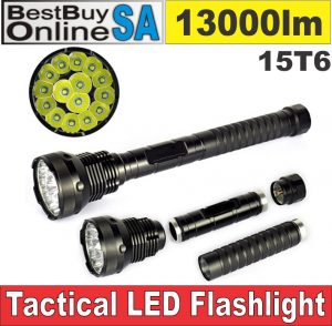 15T6 - High Power Tactical Hunting Flashlight 13000lm