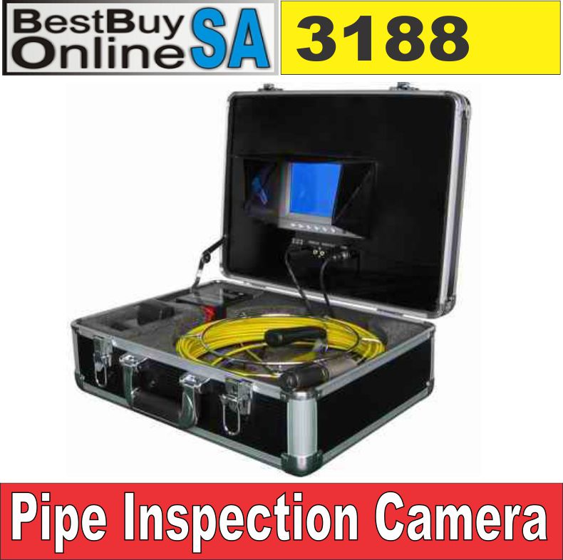 Sewer, Drain Pipe Inspection Camera Endoscope