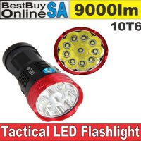 10T6 - High Power Tactical Hunting Flashlight 9000lm