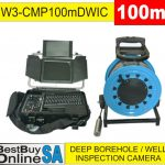 "W3-CMP100mDWIC"" Deep Borehole Well Inspection Camera"
