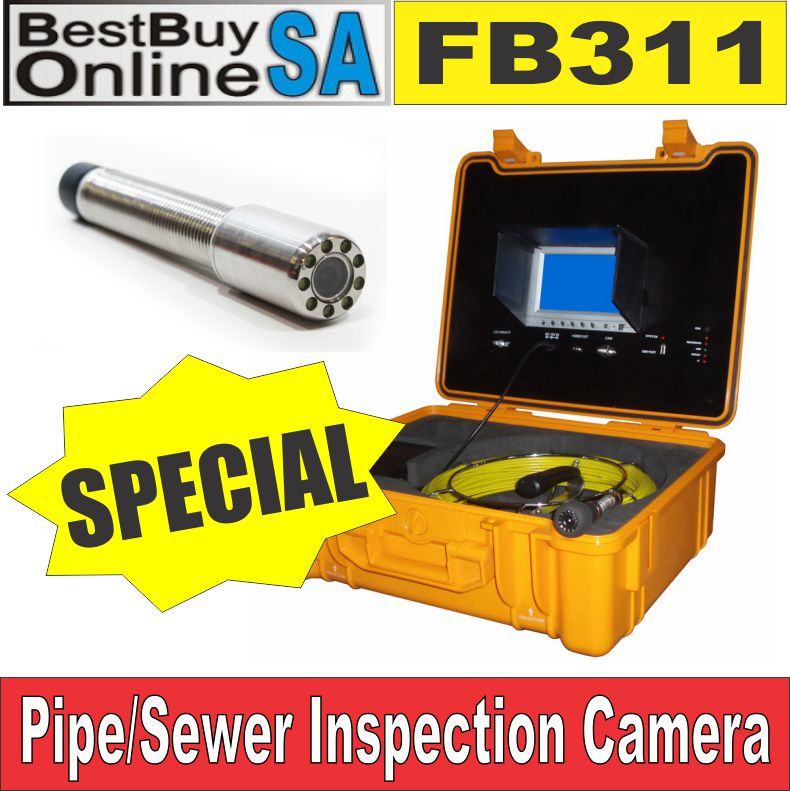 FB311 - Portable Pipe / Sewer Inspection Camera System